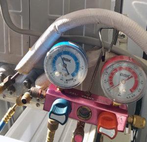 ガス圧チェック